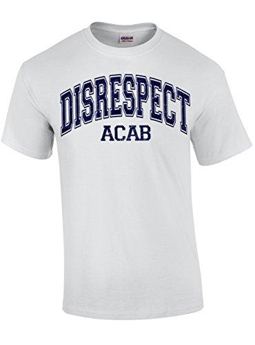 "DISRESPECT ""ACAB"" T-Shirt white"