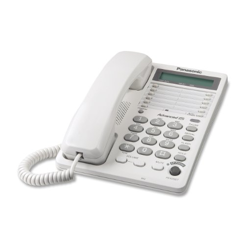 Panasonic KX TS108W Corded Phone Clock