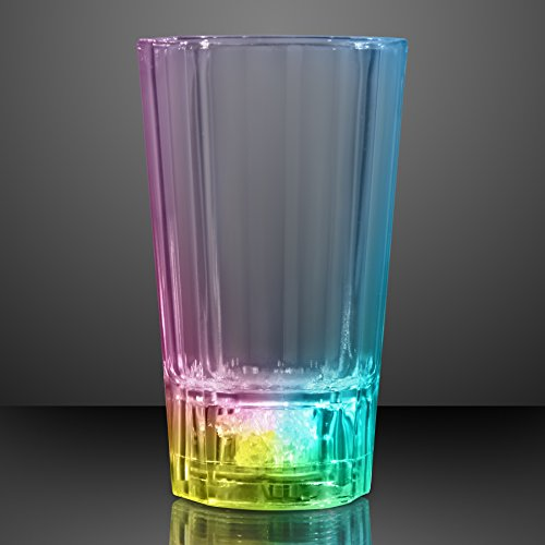Light Up Liquid Activated Color Changing LED Shot Glass (Set of 6)