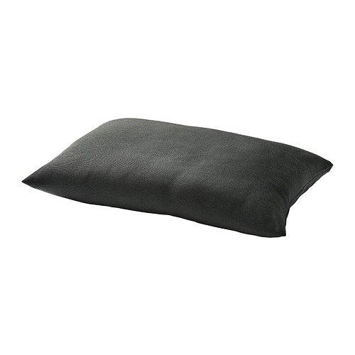 IKEA HALLO - cojín de espalda, al aire libre, negro - 62x42 ...