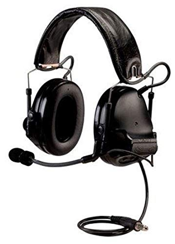 3M Peltor ComTac III ACH Tactical Communications Headset Kit Includes APX/XPR MOTOTRBO Radio Adapter, Carrying (Best 3m Wireless Headsets)