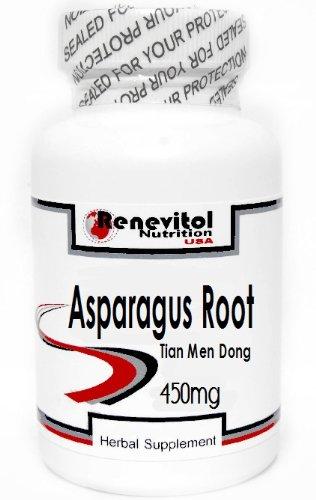 Asparagus Root (Tian Men Dong) 450mg 90 Capsules ~ Renevitol