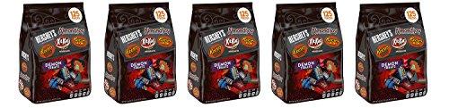 Hersheys Halloween Demon Treats Snack Size Wtops Assortments  48 05 Ounce  5 Pack