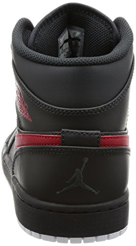 de Air 1 White Jordan Nike Basketball Mid Chaussures Multicolore Wei Anthracite Red Homme Gym gqAXdwdxE