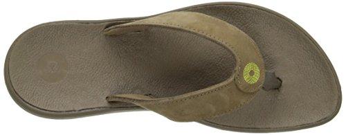 Hudson Flip Women's Flop Bogs Cocoa Leather 5w7qCT