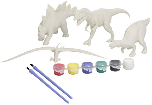 National History Museum Dinosaur Paint & Play Set 2 -