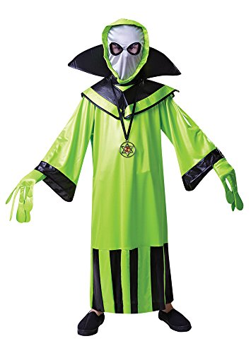 Bristol Novelty CC414 Alien Child's Costume (Small), Approx Age 3 -5 Years, Alien Costume Childs (S) -