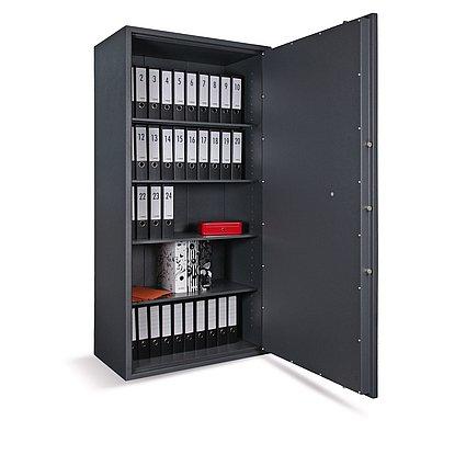 Stahlbüroschrank Economic, 4 Böden, 2 Türen, 1900x950x550mm