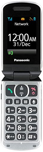 Panasonic KX-TU328EXBE Easy Use Mobile Klapp-Handy (6,1 cm (2,4 Zoll) Display) schwarz