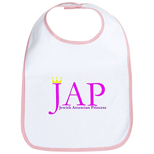 CafePress - Jewish American Princess Shirt T-Shirt Jewish Girl - Cute Cloth Baby Bib, Toddler Bib ()