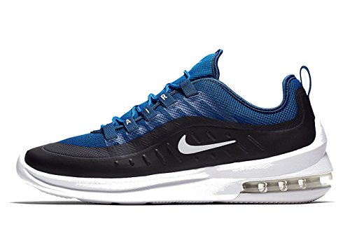 Nike Men's Air Max Axis Low-Top Sneakers, Black/White Blue (Gym Blue/White-blue 400)