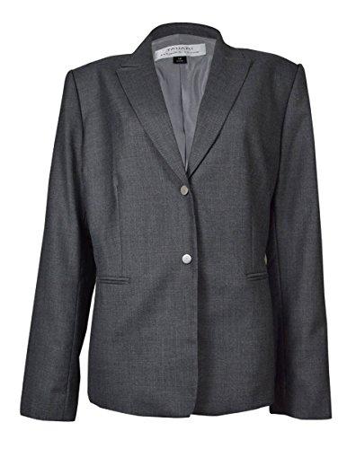 自分のためにわずかな構造的TahariレディースピークラペルAbrahamジャケット