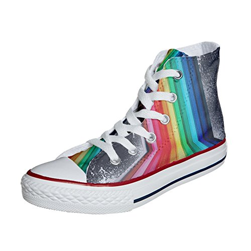 Star Personalizados Tridimensional Converse Handmade Zapatos All Producto p6W04v