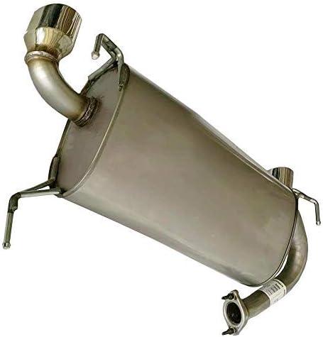 2003-2007 Infiniti G35 coupe Stainless Steel Resonator Muffler System Kit fits
