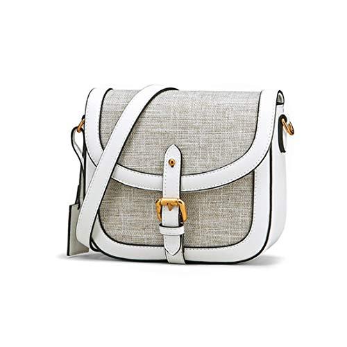 Las Viajan Hombro Diario Señoras Mujeres Bolso White Crossbody color Deebubblering Monederos Del Con Estilo White Para De Diseñador 0SCWxAwq