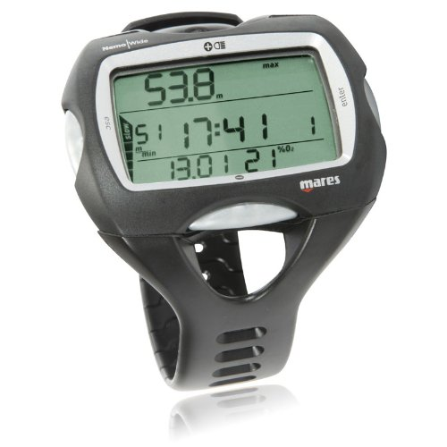 Mares Nemo Wide Dive Computer Wrist Watch (Watch Dive Professional)