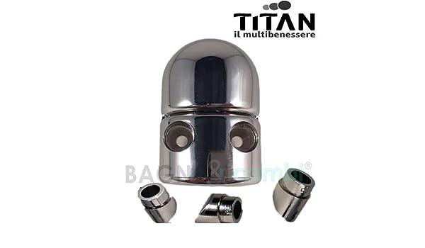 Titan Recambio Cremallera Cromo cadap1cr02 mampara de Ducha ...