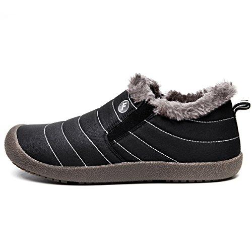 Hommes Chaussures En Hiver Impermeable De Boots Noir1 Cotton Neig Adulte Mixte Bottes Jackshibo Bottes 4wxdHq4z