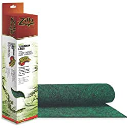 Zilla 2 Pack of Terrarium Liners, 40/50 Gallon, Green