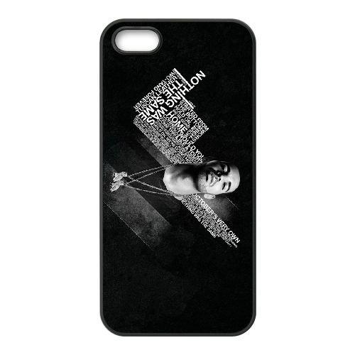 Drake 007 coque iPhone 5 5S Housse téléphone Noir de couverture de cas coque EOKXLLNCD18779