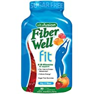 Vitafusion Fiber Well Fit Gummies, 90 Count (Packaging May Vary)