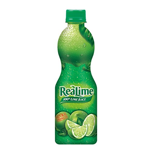 ReaLime 100% Lime Juice, 8 fl oz bottle