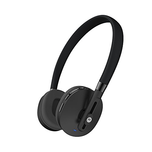 Motorola Pulse Wireless On-Ear Headphone - Black