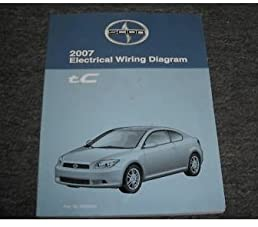 2007 scion tc electrical wiring diagram service manual toyota rh amazon com 2007 scion tc owners manual 2007 scion tc owners manual pdf