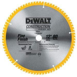 DEWALT 12 In. 80T Saw Blade