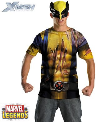 Wolverine Alternative Costume for those Men who want to dress up (sort of)