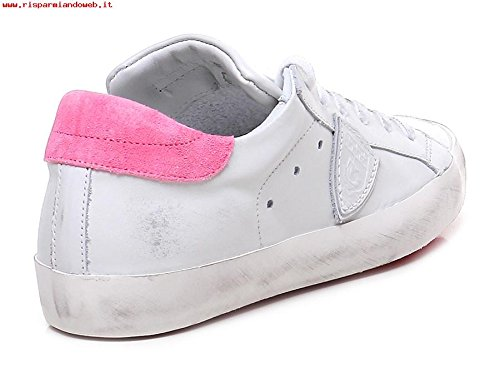 Donna Model Sneaker Bianca Classic VN05 Philippe Rosa e Low Pelle CLLD Suede qItdSncgnw