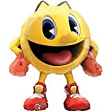 """PAC-MAN Shaped Arcade Game Character 36"""" Birthday Party Mylar Foil Balloon"""