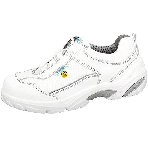 """Abeba 34570-42 talla 42 """"ESD-Crawler"""" zapatos bajos de seguridad - blanco"""