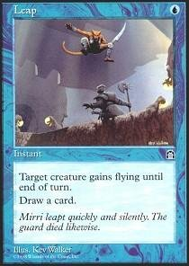Magic  The Gathering   Leap   Stronghold