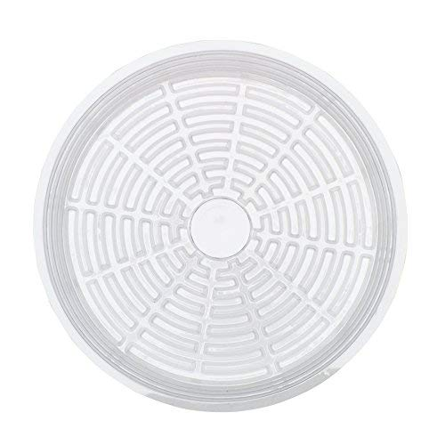 - Life Solutions Products Clear Plastic Pot Saucer Drip Tray - 5 pack - 12 inches