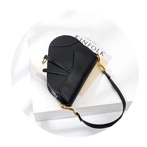 Original Quality Real Leather Mochila Luxury Handbags Women Designer Bags Famous Brand D Bolsa Feminina,black,20cm by 17cm by 4cm