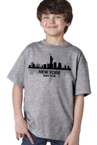 NEW YORK CITY SKYLINE Youth T-shirt / NYC, Big Apple, Manhattan Sky Tee