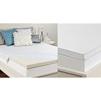 Amazon Com Sealy 2 In Memory Foam Mattress Topper Home