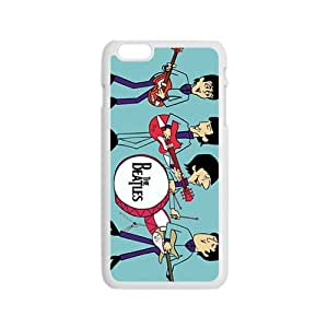 Cartoon The Beatles Fashion Comstom Plastic case cover For iphone 6 plusd 5.5