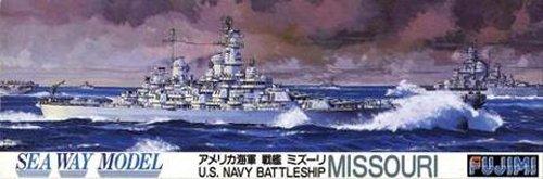 Fujimi 1/700 Battleship U.S.S. Missouri (Us Battleships Iowa Class)