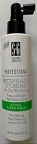 Shaping Mist (Salon Grafix Professional Protein Shaping Styling Mist, Extra Super Hold, 6 fl oz)