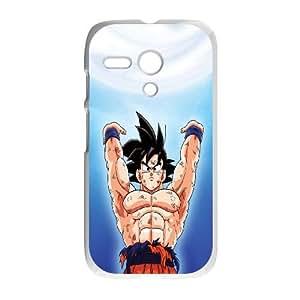 Motorola G Cell Phone Case White Dragon Ball Z Son Goku JNR2097671