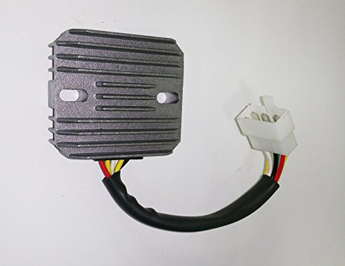 Voltage regulator replaces John Deere MIA881277 M802471 CH15589 fits compact utility tractor models 650 & 750