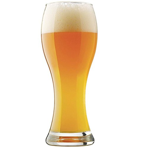 Pier 1 Imports Libbey Craft Brews 23-Ounce Clear Wheat Pilsner Beer Glass ()