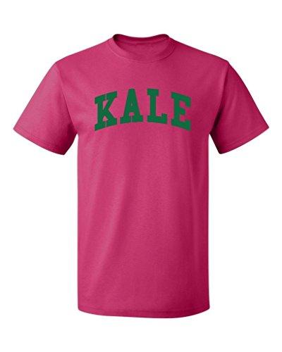 P&B Kale G. Men's T-Shirt, L, Cyber Pink