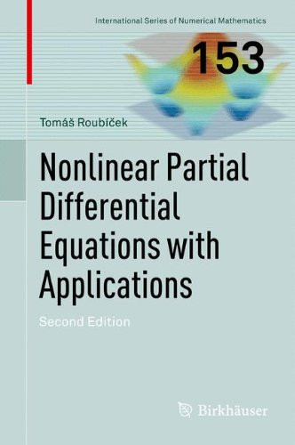 Nonlinear Partial Differential Equations with Applications (International Series of Numerical Mathematics)