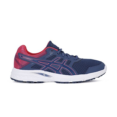 Asics Gel-Excite 5, Zapatillas de Running para Mujer Multicolor (Smoke Bluesmoke Blue Hot Pink)