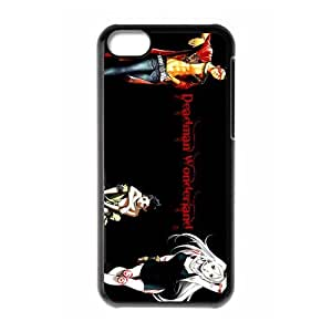 Custom Japanese manga series Deadman Wonderland iPhone 5C Hard Plastic Shell Case Cover White&Black(HD image)