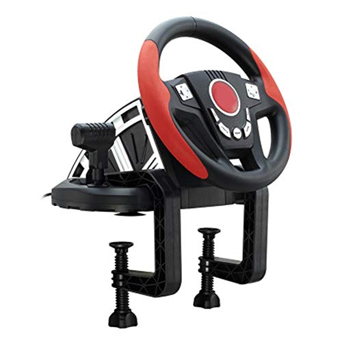 (Driving Force Racing Wheel Support PC/PS3 Game Steering Wheel 300° Rotation Metal Tire Shape Super Size Rough Leather Texture Metal Textured Racing Personally On The Scene for Xbox One and PC)