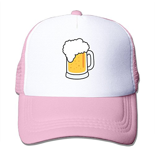 xssyz-i-love-beer-trucker-hat-mesh-cap-pink